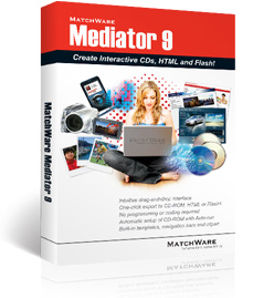 Mediator - Multimedia authoring software for web and CD-ROM