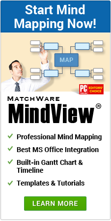 Create your Mind Mapping today with MindView