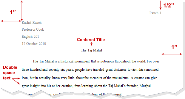 quoting a short story in an essay mla