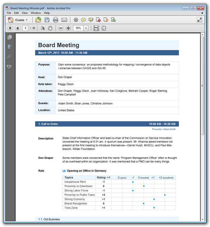 Educational Meeting Management Software  Matchware Meetingbooster