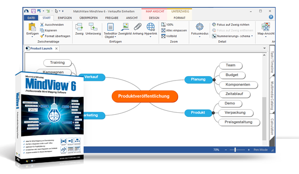 Mind mapping software matchware House map software