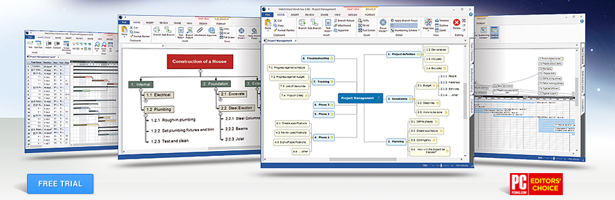 MindView Mind Mapping Software Free Trial
