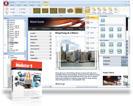 Mediator Multimedia Authoring Software