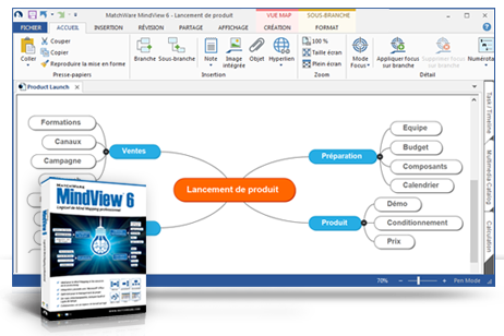 MindView Business Mind Mapping Software