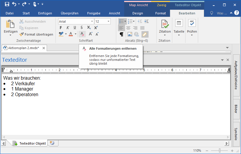 Updated Text Note Editor