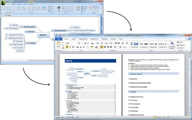 Concept Mapping Software To Word