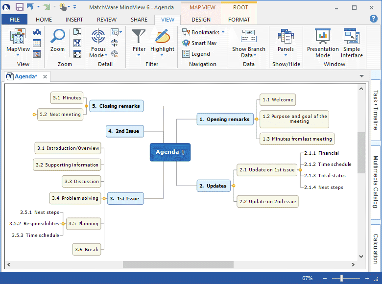 mind map software mindview mind mapping software