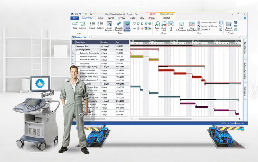 Gantt Chart Software | Create Gantt Charts | Free Trial