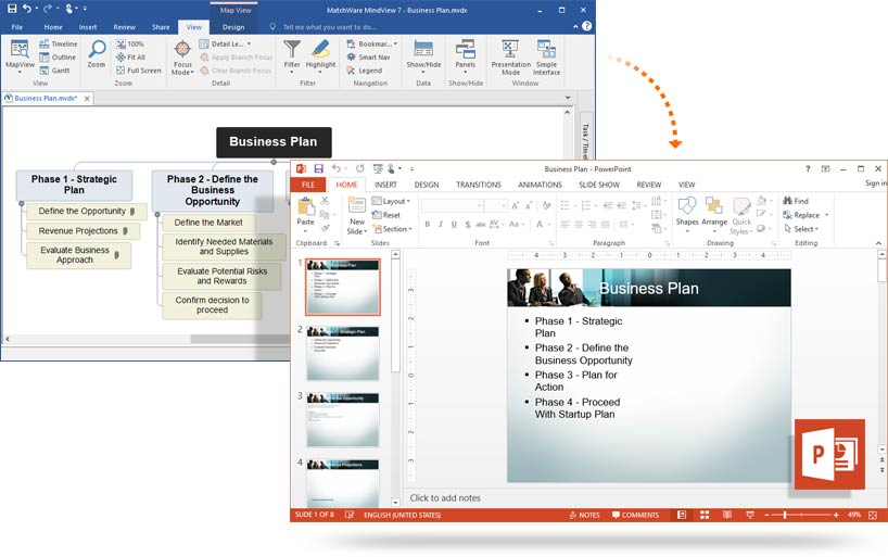 powerpoint export