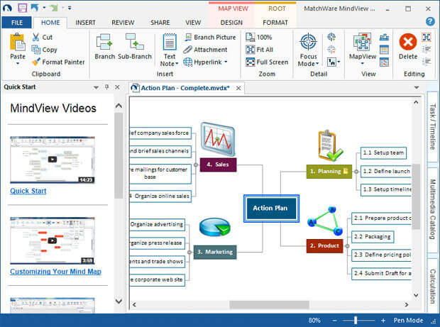 Office 2013 Interface with Backstage